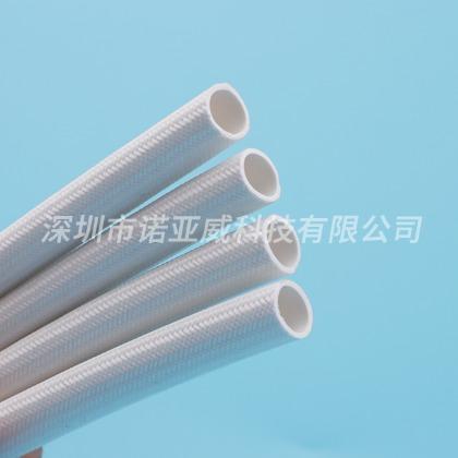 矽胶管 硅胶管7000v内胶外纤200℃