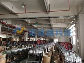 诺亚威玻璃纤维套管编织机